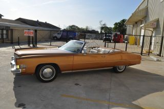 1974 Cadillac Eldorado Base Convertible 2 - Door 8.  2l photo