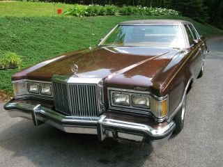 1977 Mercury Cougar Brougham Hardtop 4 - Door 6.  6l photo