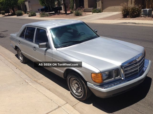 1985 mercedes 500sel for 1985 mercedes benz 500sel