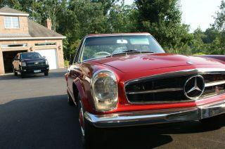 1964 Mercedes 230 Sl Antique photo