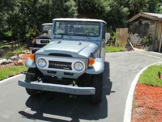 1976 Toyota Land Cruiser Diesel Hj 45 Pick Up 4x4 4 / Speed Inline 6 Cyl. photo