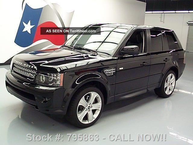 2013 land rover range rover sport hse lux 4x4 17k texas direct auto. Black Bedroom Furniture Sets. Home Design Ideas