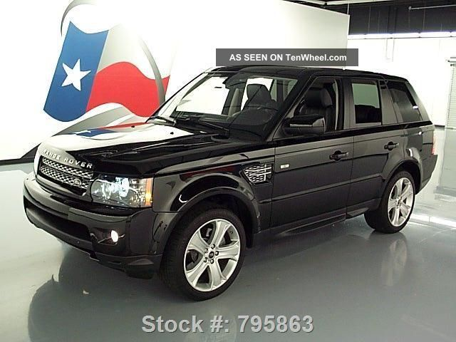 2013 land rover range rover sport hse lux 4x4 17k texas direct auto. Black Bedroom Furniture Sets. Home Design Ideas
