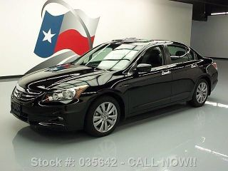 2012 Honda Accord Ex - L V6 Sedan Htd 39k Texas Direct Auto photo