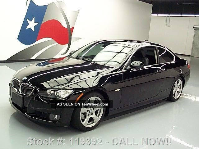 2008 Bmw 328i Coupe Automatic Blk On Blk 19k Mi Texas Direct Auto 3-Series photo