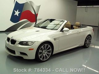 2011 Bmw M3 Convertible Hard Top 16k Texas Direct Auto photo