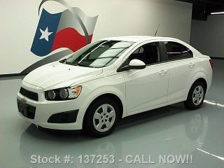 2013 Chevy Sonic Automatic Air Condition 11k Texas Direct Auto photo