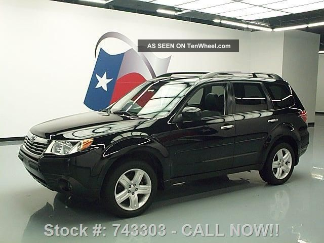 2009 Subaru Forester 2.  5 X Ltd Awd 39k Texas Direct Auto Forester photo