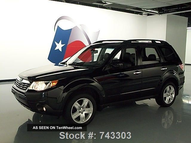 2009 subaru forester 2 5 x ltd awd 39k texas direct auto. Black Bedroom Furniture Sets. Home Design Ideas