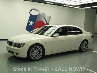 2008 Bmw 750i Climate Seats 20 ' S 72k Texas Direct Auto photo