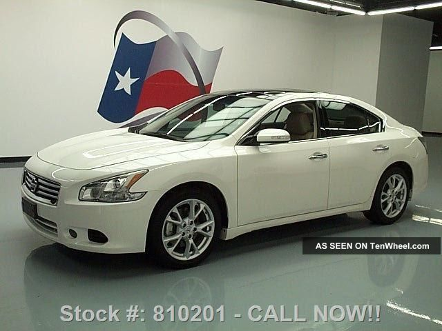 2012 Nissan Maxima 3.  5 Sv Premium Pano 29k Texas Direct Auto Maxima photo