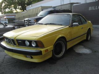 1981 Bmw 633csi Base Coupe 2 - Door 3.  2l M6 Tribute Alpina Wheels 635csi photo