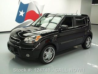 2010 Kia Soul+ Auto Chrome Wheels 57k Texas Direct Auto photo