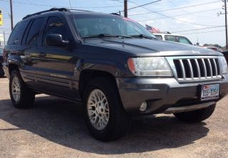 2004 Jeep Grand Cherokee Limited Sport Utility 4 - Door 4.  7l - photo