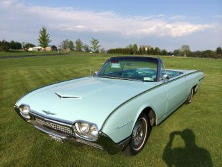 1962 Ford Thunderbird Base Convertible 2 - Door 6.  6l photo