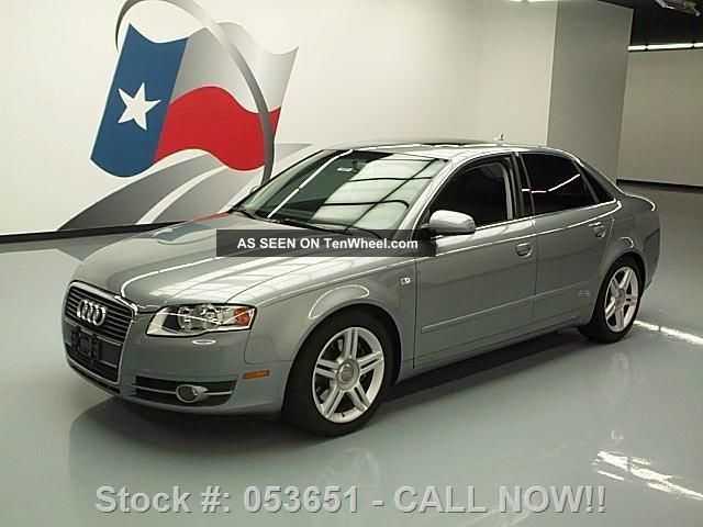 2007 Audi A4 2.  0t Turbocharged Auto 1 - Owner 56k Texas Direct Auto A4 photo