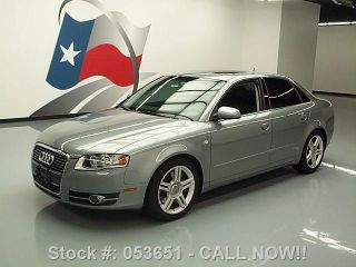 2007 Audi A4 2.  0t Turbocharged Auto 1 - Owner 56k Texas Direct Auto photo