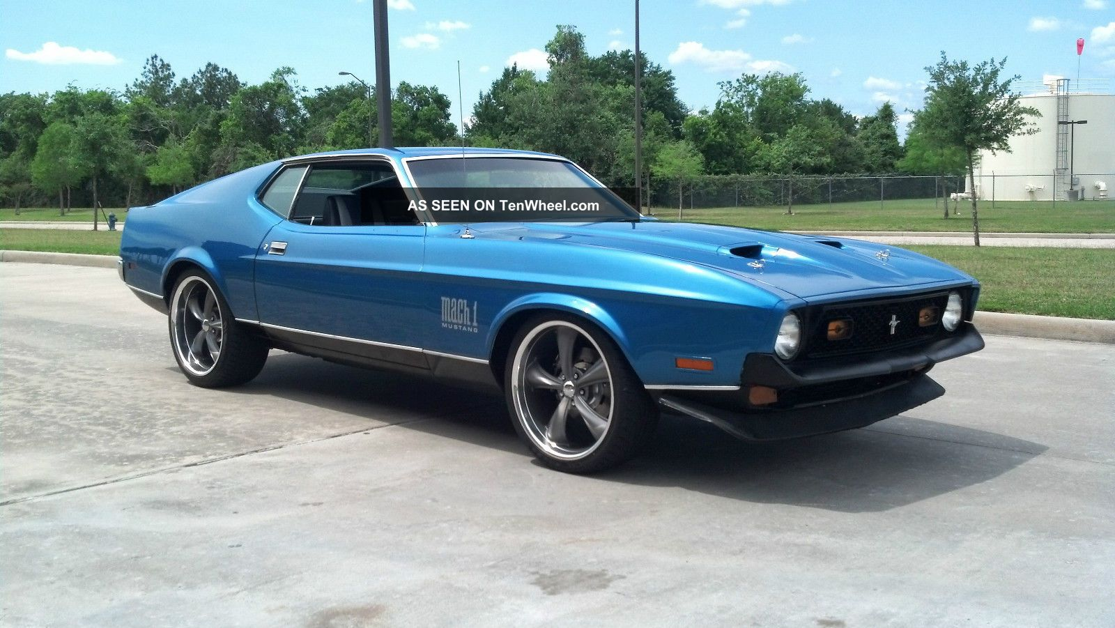 1972 Mach 1 Mustang Pro Touring