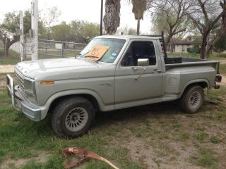 1981 Ford F - 100 Custom Standard Cab Pickup 2 - Door 4.  9l photo