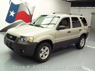 2006 Ford Escape Xlt 3.  0l V6 Roof Rack Alloy Wheels 54k Texas Direct Auto photo