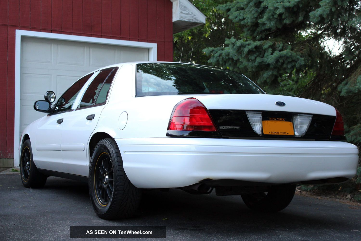 Ford Crown Victoria Police Interceptor Sedan Door L Turbo Lgw