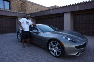 2012 Fisker Karma Owned By Nfl Star Donovan Mcnabb,  Hybrid Supercar Almost photo