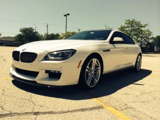 2014 Bmw 650i Xdrive Gran Coupe Base Sedan 4 - Door 4.  4l photo
