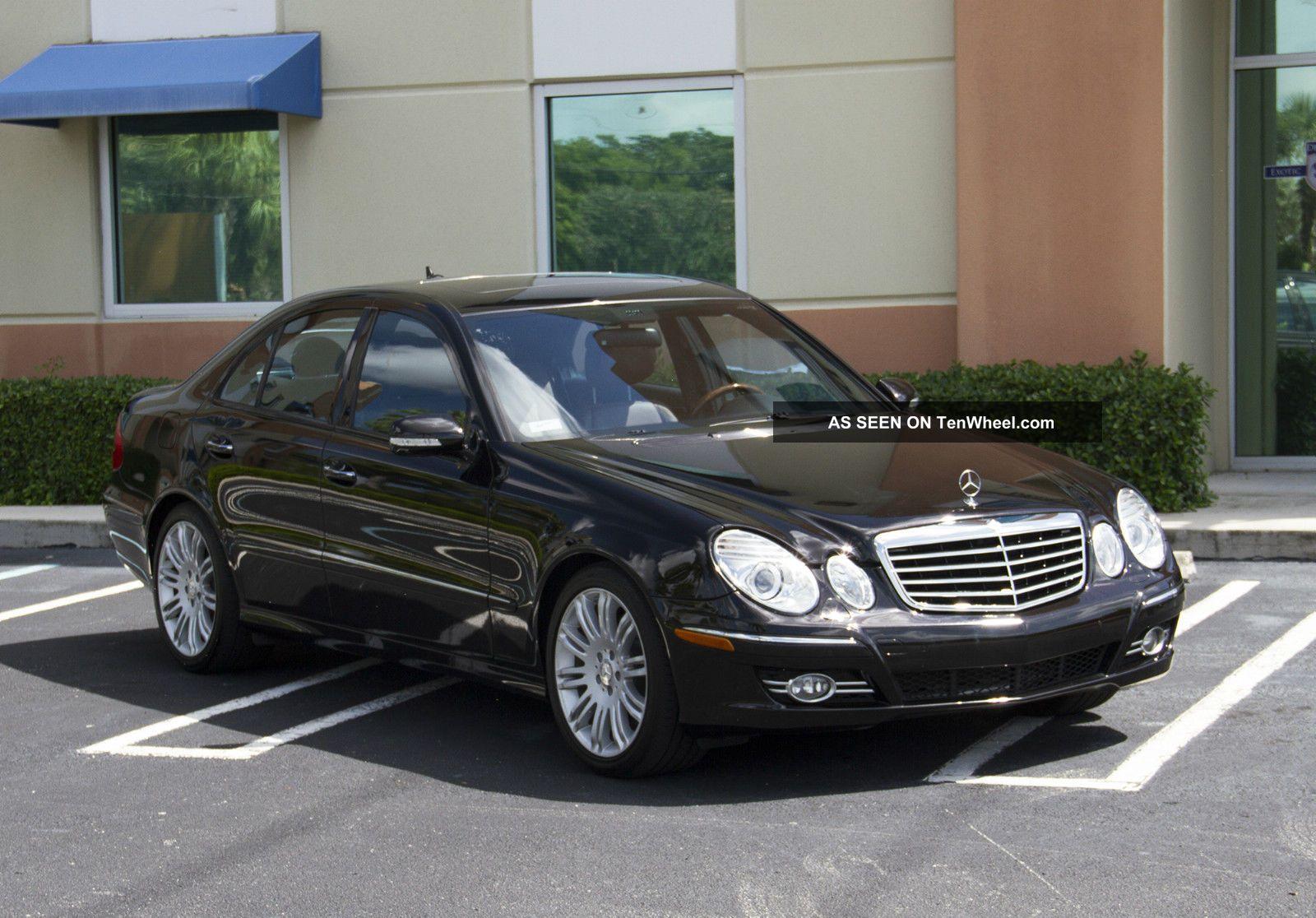 2008 mercedes benz e350 base sedan 4 door 3 5l for Mercedes benz 2008 e350