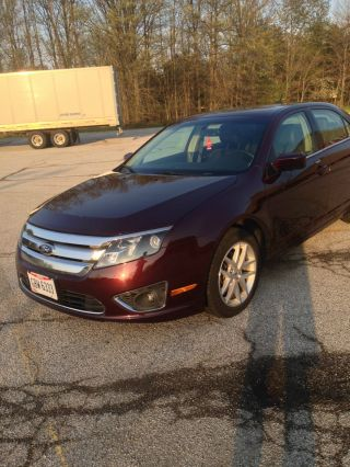 2012 Ford Fusion Sel Sedan 4 - Door 2.  5l photo