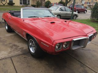 1969 Pontiac Firebird Convertible Fun Driver photo