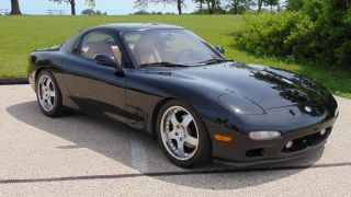 1993 Mazda Rx7 Twin Turbo Rotary 14k Mi On Motor Black Pettit Racing photo