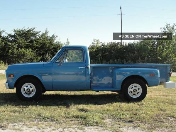 Rare 1972 Chevrolet C20 Pickup Base 5.  7l Other Pickups photo