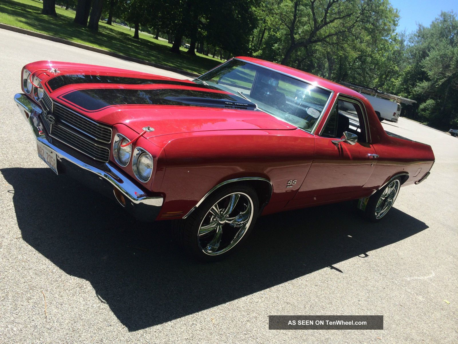 1970 Chevy Chevelle El Camino Ss S Match 396 Ready To Go