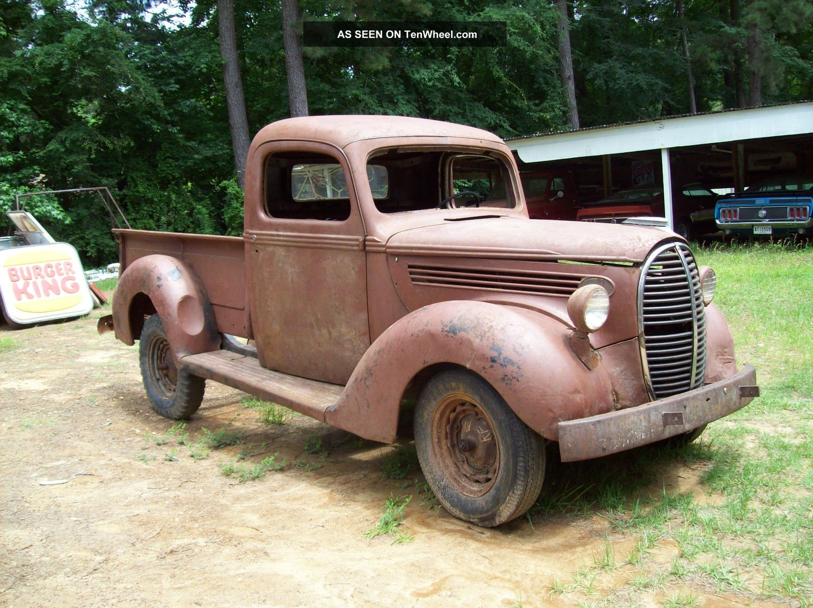 1939 Ford Truck 1 / 2 Ton Pick Up Rat Rod