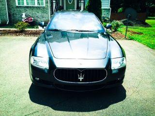 2009 Maserati Quattroporte Base Sedan 4 - Door 4.  2l photo