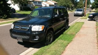2005 Toyota Sequoia Limited Sport Utility 4 - Door 4.  7l photo