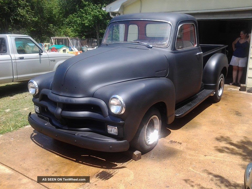 1954 Chevrolet Five Window (big Block Powered) Other Pickups photo