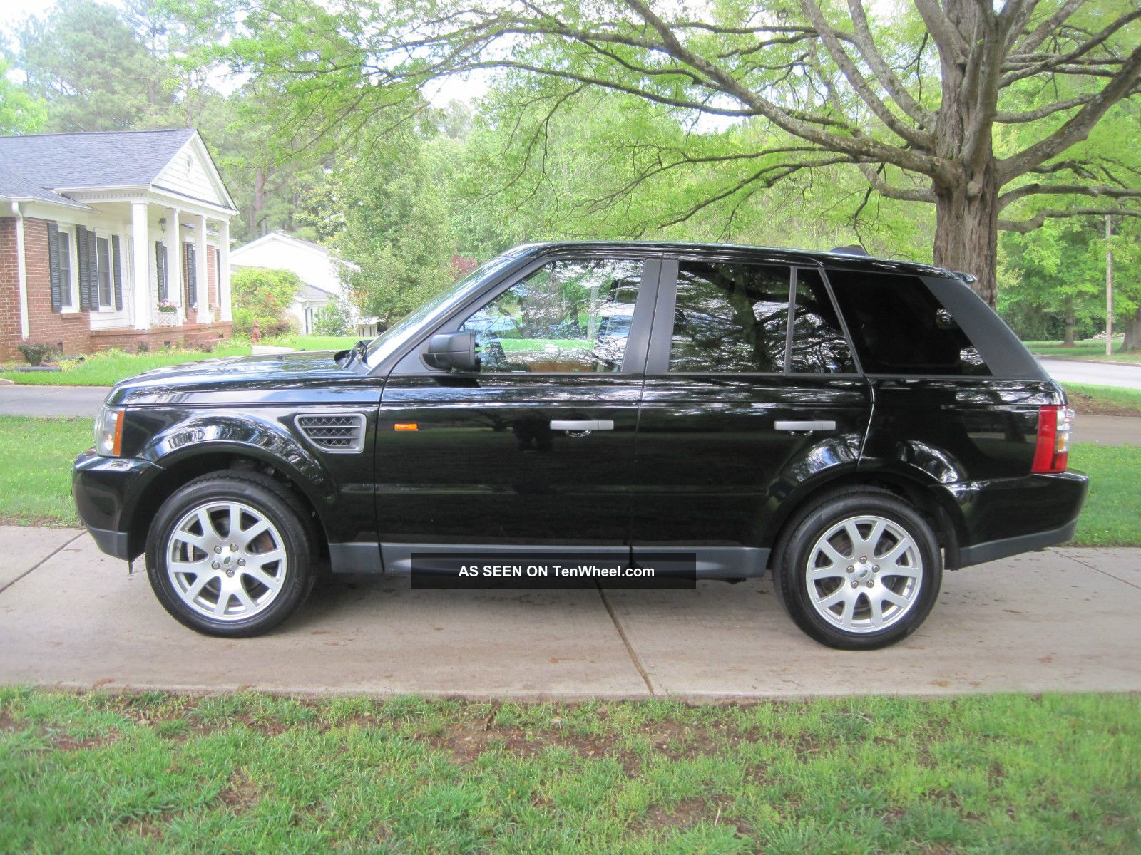 2008 Land Rover Range Rover Sport Hse Luxury W Dvd In