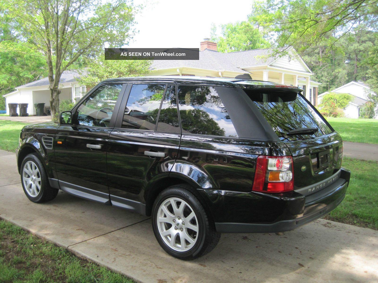 2008 land rover range rover sport hse luxury w dvd in headrest cooler in arm. Black Bedroom Furniture Sets. Home Design Ideas