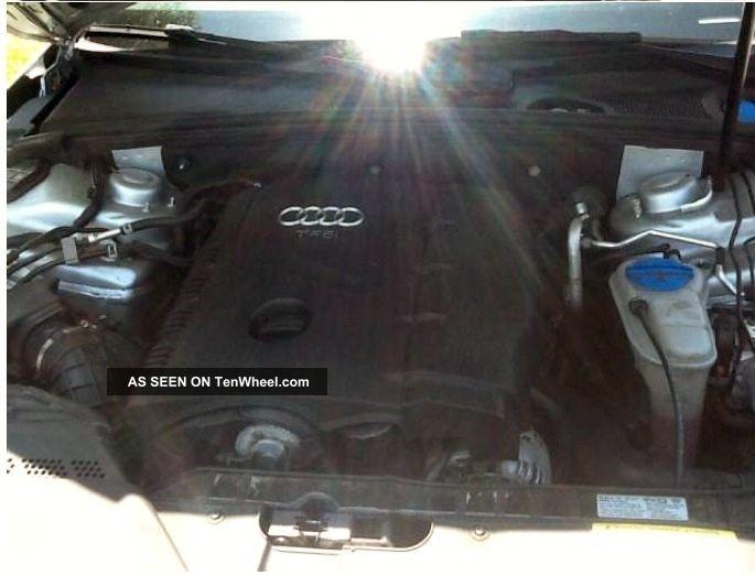 2010 Audi A4 Quattro Premium Plus Sedan 4 - Door 2.  0l A4 photo