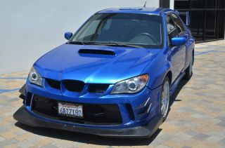 2006 Subaru Impreza Wrx Sti Sedan 4 - Door 2.  5l photo