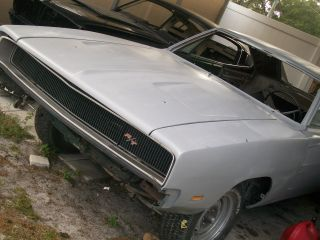 1968 Charger Rt Aa1 Four Speed Dana 60 Car Rare photo