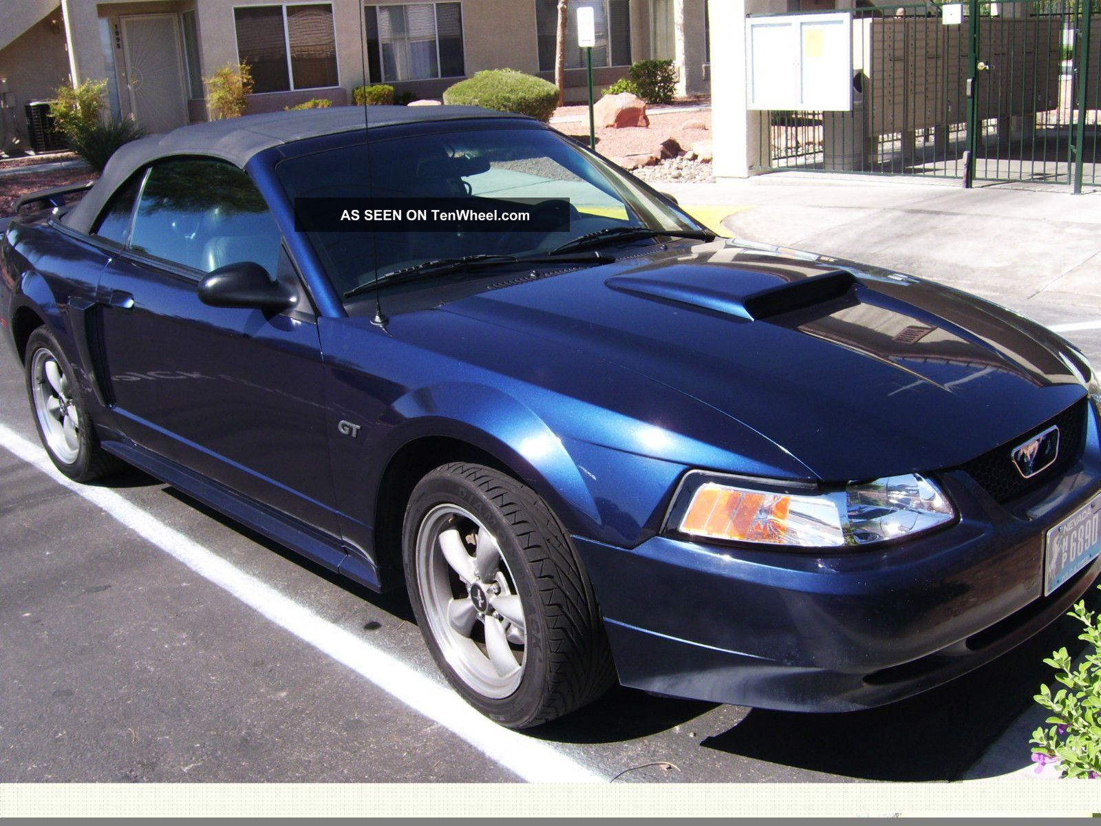2002 Ford Mustang Gt Convertible 2 Door 4 6l