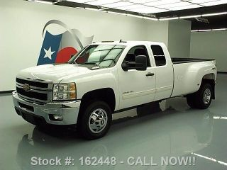 2011 Chevy Silverado 3500 Lt Ext Cab 4x4 Diesel Dually Texas Direct Auto photo