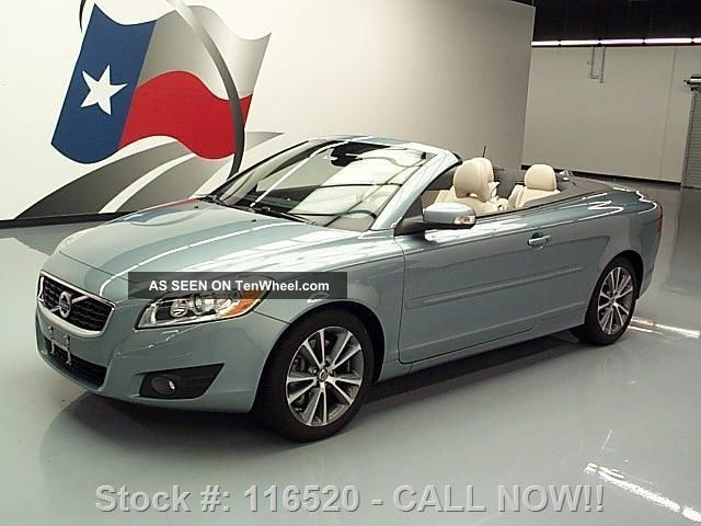 2011 Volvo C70 T5 Convertible Hard Top Auto 26k Texas Direct Auto C70 photo