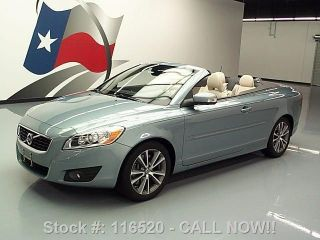 2011 Volvo C70 T5 Convertible Hard Top Auto 26k Texas Direct Auto photo