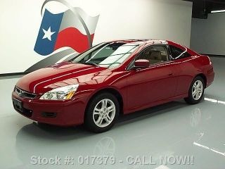 2007 Honda Accord Ex - L Coupe Auto Htd Texas Direct Auto photo