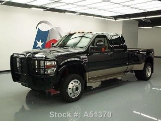 2010 Ford F450 King Ranch 4x4 Diesel Dually Texas Direct Auto photo