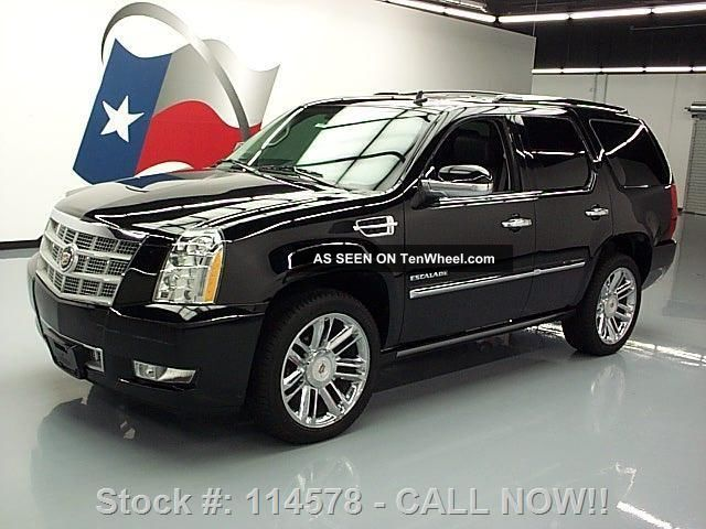 2012 Cadillac Escalade Platinum Awd Dvd 38k Texas Direct Auto Escalade photo
