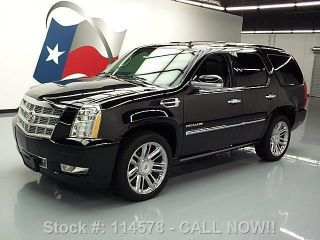 2012 Cadillac Escalade Platinum Awd Dvd 38k Texas Direct Auto photo